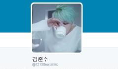 Twitter de Junsu